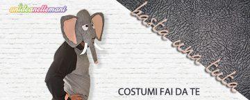 Come fare un costume da Elefante con una tuta da ginnastica