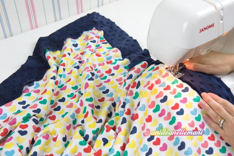 Come Cucire Facilmente Una Copertina Per Bambini O Per La Poltrona