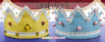 Come creare una corona da re e da regina