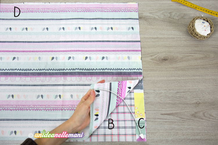 cucire-federa-stoffa sopra