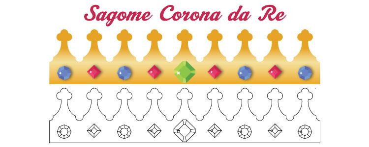 Disegno Corona Da Re Da Stampare Ritagliare Colorare