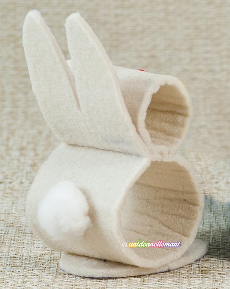 coniglietto in feltro
