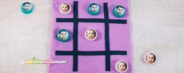 Come costruire il gioco del tris fai da te per bambini