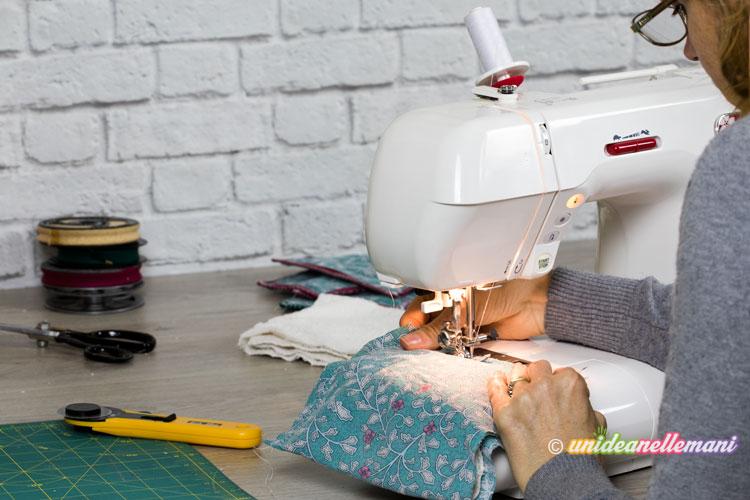 cucire presine di stoffa