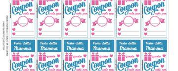 Coupon Festa della Mamma da personalizzare