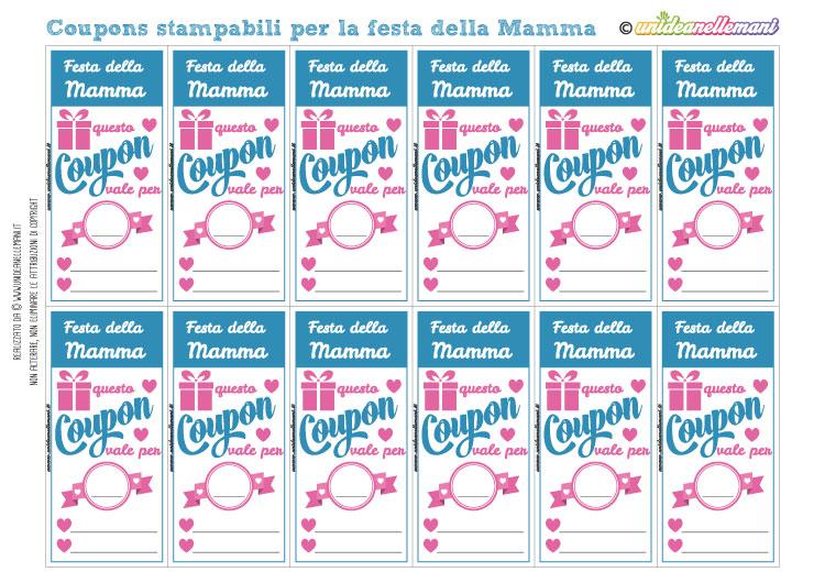 Biglietti Festa Della Mamma Unideanellemani