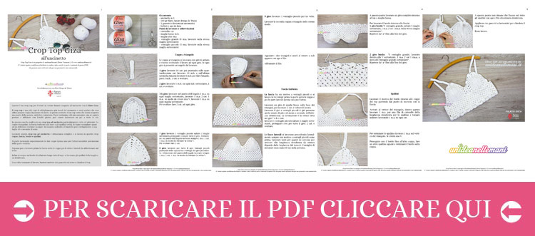Come Fare Un Crop Top Alluncinetto Tutorial In Italiano