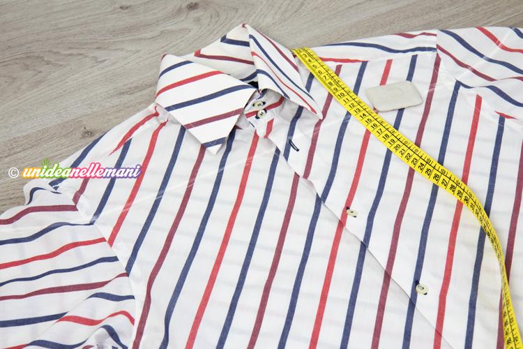 hot sale online 17af1 0a7d7 Come trasformare una camicia da uomo in un top sbarazzino