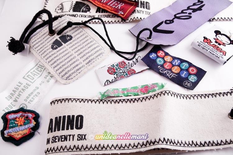Ricamato Personalizzata Quilt//Abbigliamento etichetta ricamata su feltro