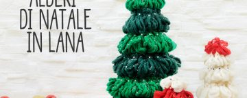 Come fare velocemente mini alberi di Natale fai da te. Video...