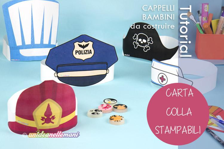 autorizzazione sconto più basso goditi il prezzo più basso Come costruire tanti cappelli di carnevale diversi di carta