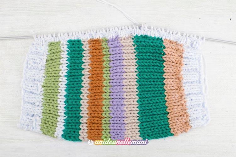 imballaggio forte reputazione prima vasta gamma di Cappello ai ferri facile con avanzi di lana