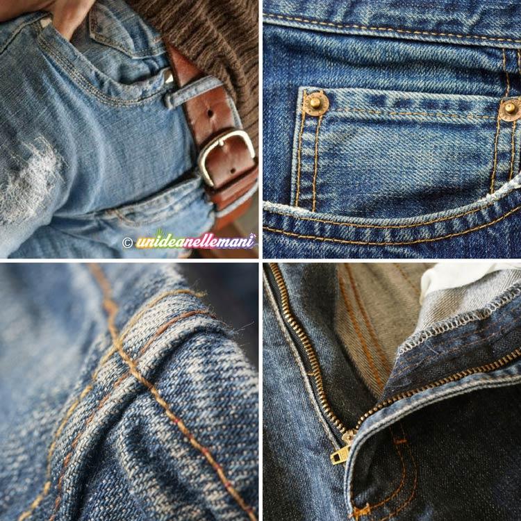 modificare i jeans | unideanellemani