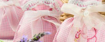 Come creare sacchetti profuma biancheria con avanzi di stoff...