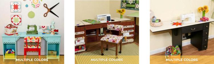 Postazioni per il cucito meglio il tavolo o il mobiletto - Tavoli per macchine da cucire ...